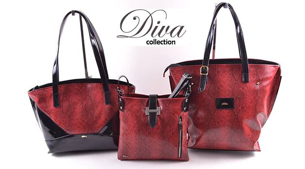 Diva egyedi női táskák