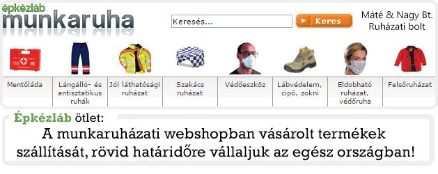 756b8c066500 Munkaruha és védőruha nagykereskedések, webáruházak